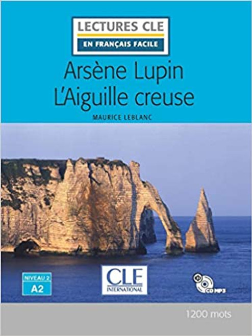 French book easy reader Arsene Lupin L'aiguille creuse - Lecture + CD audio
