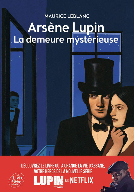 French book  Arsene Lupin La demeure mysterieuse - Texte integral