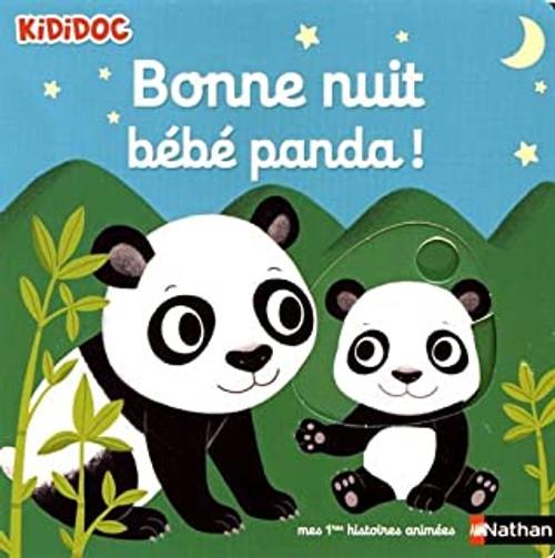 French book Kididoc Bonne nuit Bebe Panda