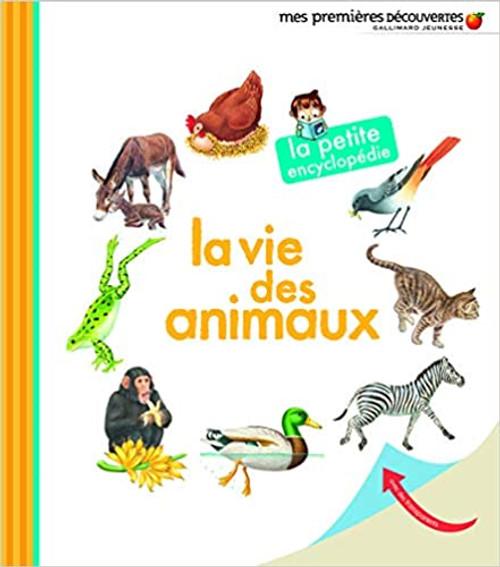 French book La vie des animaux La petite encyclopedie