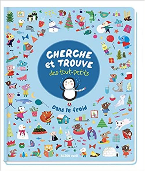 French book Cherche et trouve des tout-petits: Dans le froid