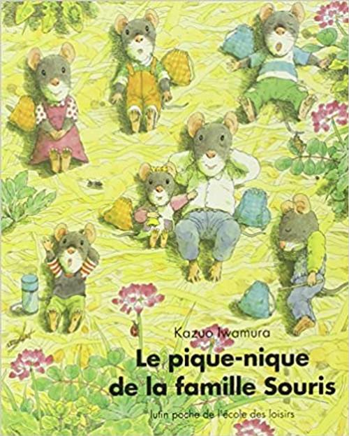 French book Le Pique-nique de la famille Souris