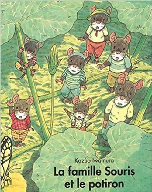 French children's book La famille Souris et le potiron