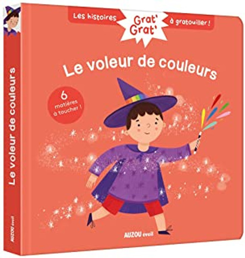 French children book Grat' grat' - Le voleur de couleur