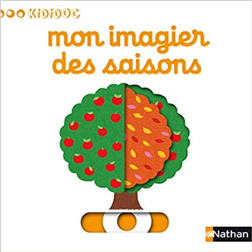 French children book Mon imagier des saisons