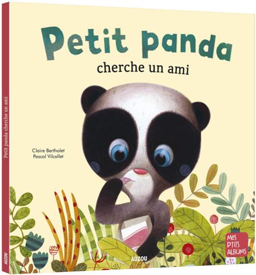 French children's book  Petit Panda cherche un ami