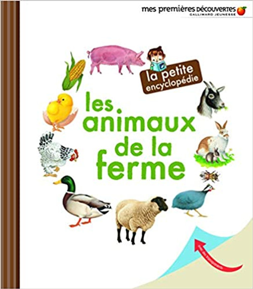 French book  Les animaux de la ferme La petite encyclopedie