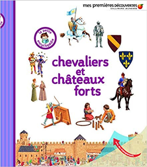 French book Chevaliers et Chateaux forts La petite encyclopedie