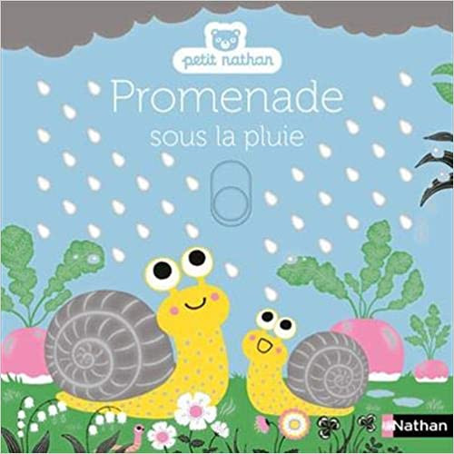 French children's book Promenades sous la pluie - Petit Nathan