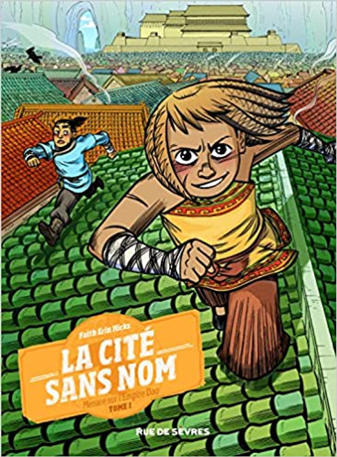 French comic book La cite sans nom T1 Menace sur l'empire Dao