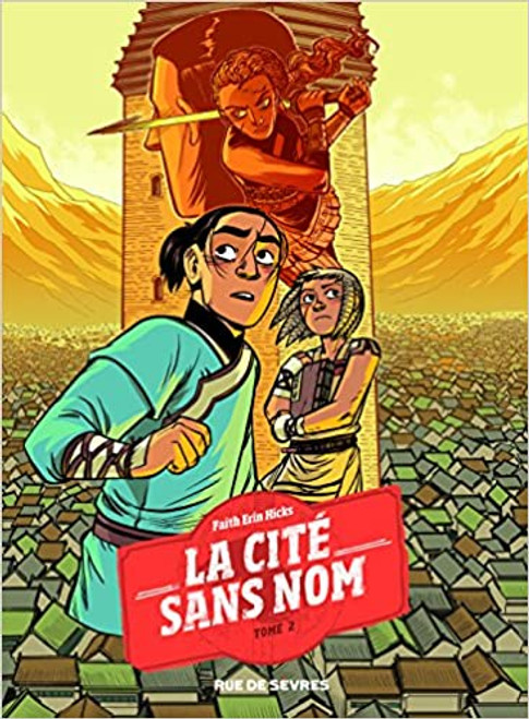 French comic book La cite sans nom T2 Le secret du coeur de pierre