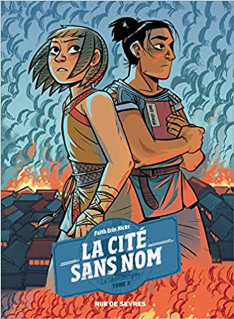 French comic book La cite sans nom T3 La terre dechiree