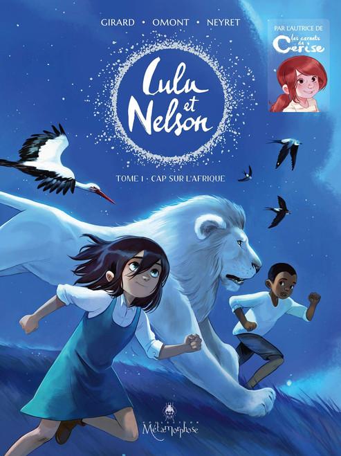 French comic book Lulu et Nelson T1: Cap sur l'Afrique