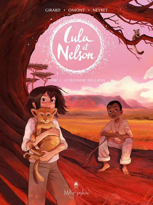 French comic book Lulu et Nelson T2: Le royaume des lions
