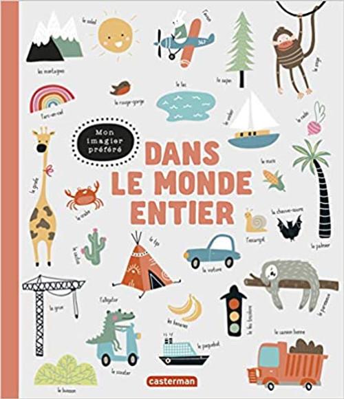 French children book Dans le monde entier