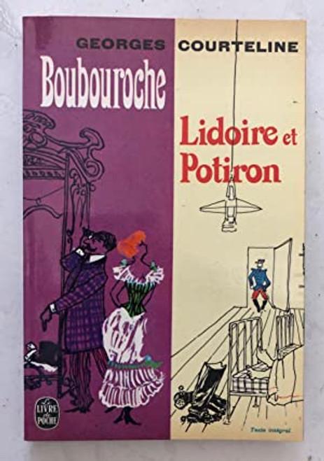 French book Boubouroche suivi de Lidoire et Potiron