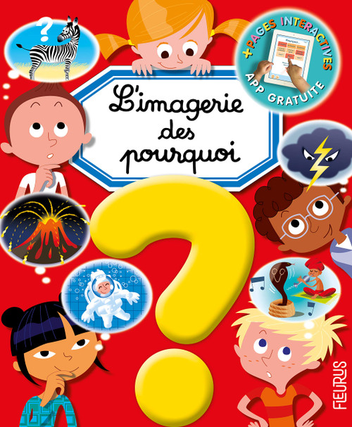 French children's book l'imagerie des pourquoi