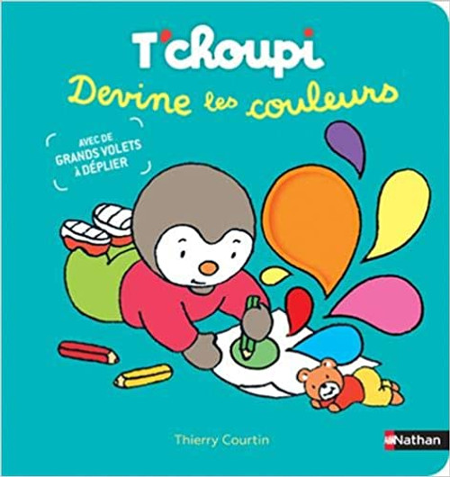French children's book T'choupi devine les couleurs