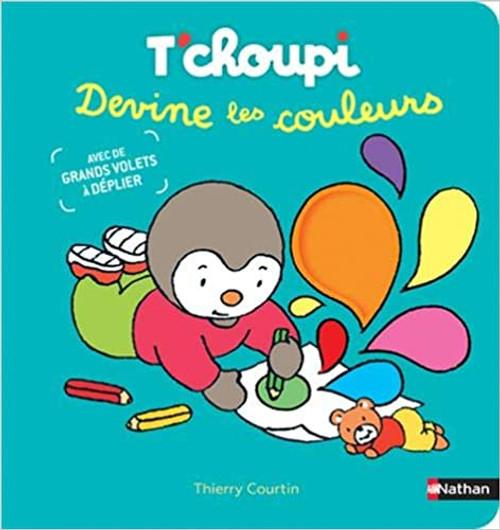 French children's book T'choupi devine les couleurs