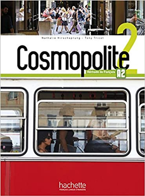 French textbook Cosmopolite Niveau 2  Livre Eleve + DVD-Rom A2