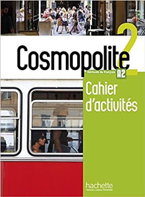 French textbook Cosmopolite Niveau 2  Cahier activites + CD audio  A2