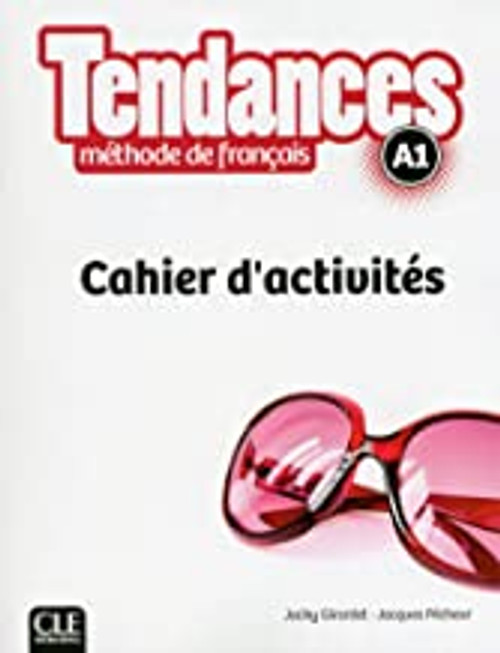 French textbook Tendances A1 cahier activites workbook