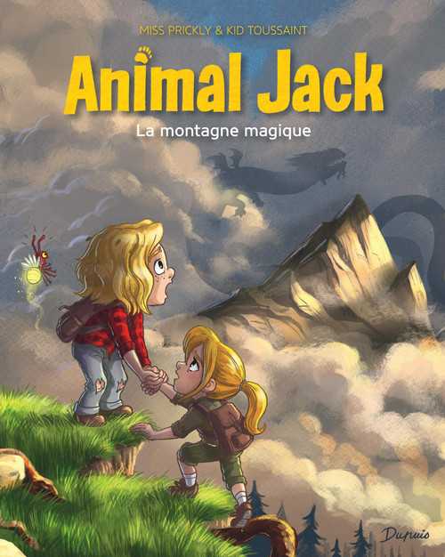 French comic book Animal Jack T2 La montagne magique