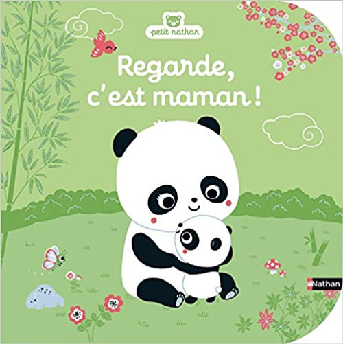 French children book Regarde, c'est maman!
