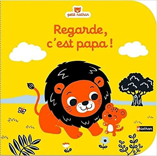 French children book Regarde, c'est papa!