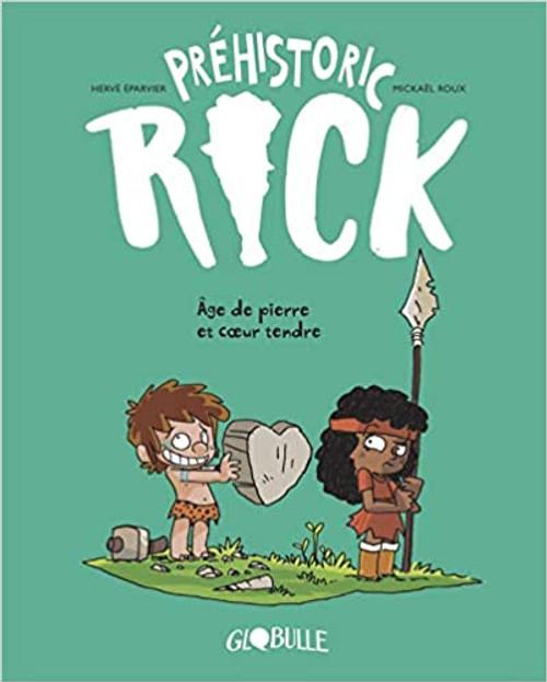 French Comic Book Prehistoric Rick T03: Age de pierre & Coeur tendre