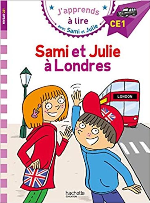 French bok Sami et Julie: Sami et Julie a Londres (CE1)
