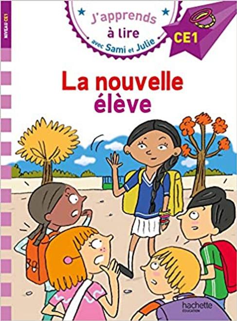 French book Sami et Julie: La nouvelle eleve (CE1)