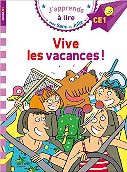 French book Sami et Julie: Vive les vacances (CE1)