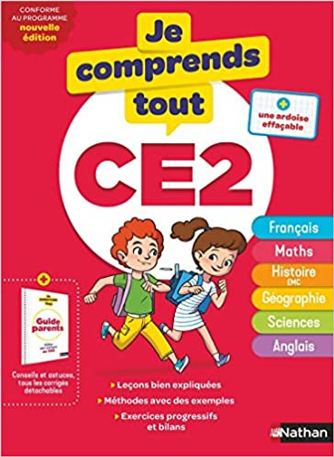 French children textbook Je comprends tout CE2