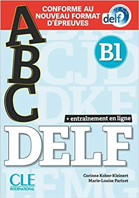 French workbook abc DELF B1 Nvelle Edition with livret and CD mp3 audio