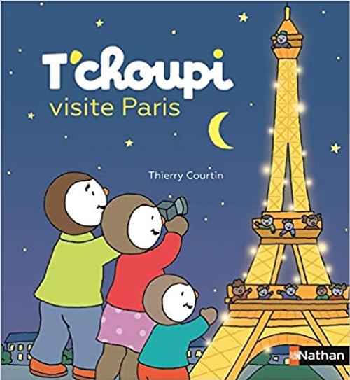 French book T'choupi visite Paris