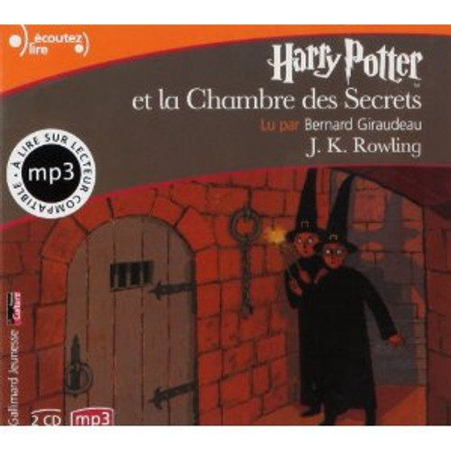 Harry Potter et la chambre des Secrets - Audiobook (CD mp3)