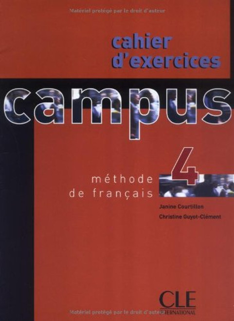 Campus 4 Cahier d' Exercices