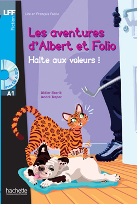 Les aventures d'Albert et Folio - Halte aux voleurs! (with CD audio ) - Young Easy reader A1