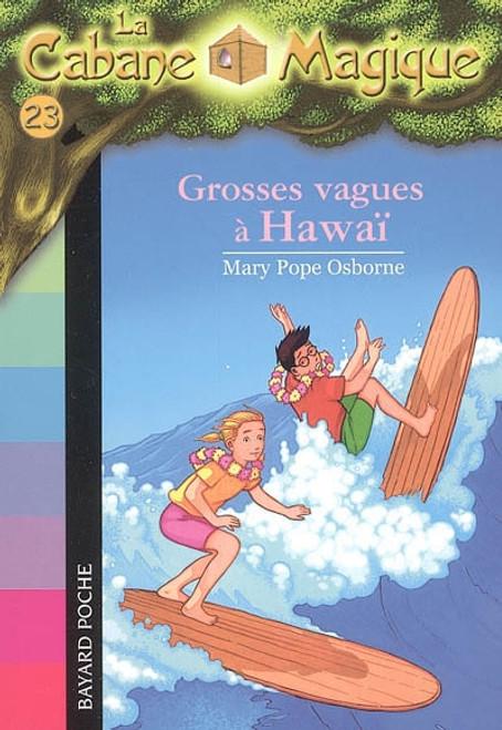La cabane magique tome 23 Grosses vagues a Hawai