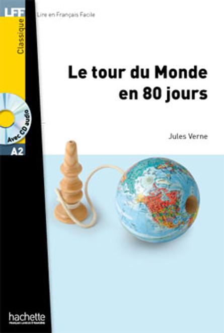 Tour du monde en 80 jours (with CD audio MP3) - Jules Verne - Easy reader A2