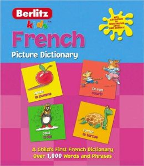 Kids French picture dictionary