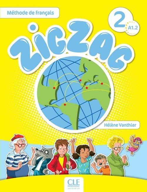 Zig Zag 2. Methode de francais Eleve with audio CD A1.2