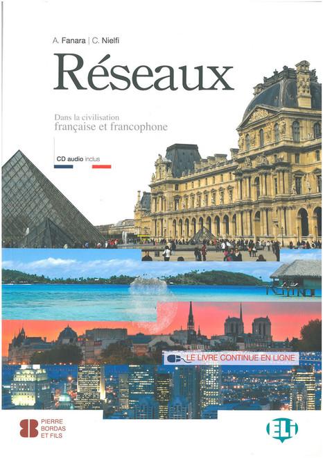 Reseaux - Dans la civilisation francaise et francophone (with CD audio)