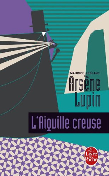 French book Arsene Lupin Aiguille creuse
