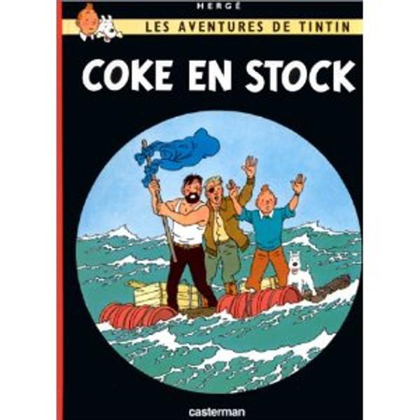 Tintin: Coke en stock