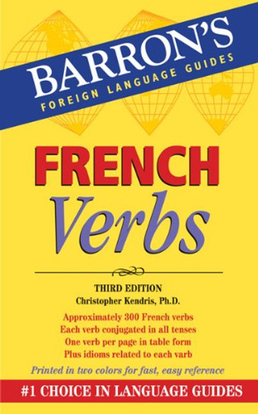 Barron's French verbs