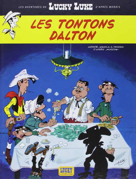 Lucky Luke N06 - Les tontons Dalton