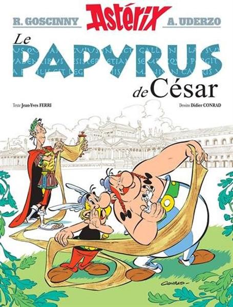 Asterix N°36: Le papyrus de Cesar