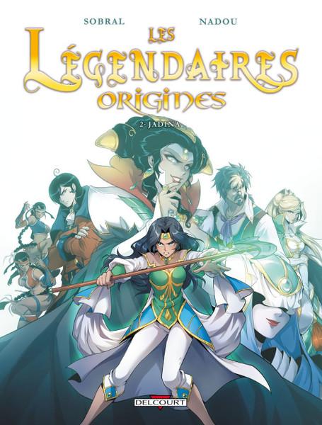 Les Legendaires Origines T2: Jadina